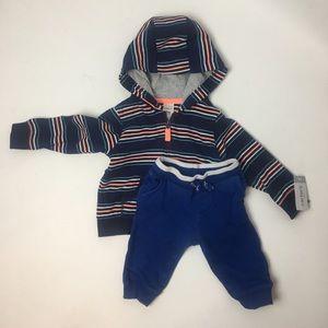 Carters pants and hoodie set